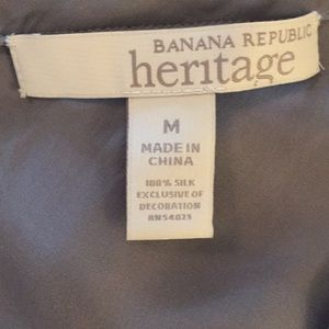 Banana Republic Heritage Tops - NWOT Banana Republic Heritage Silk Beaded Camisole